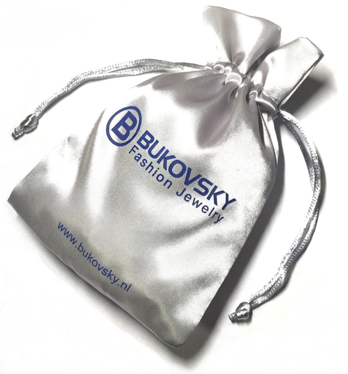 Wordt geleverd met een Gratis Bukovsky bewaar/geschenkzakje. Bukovsky Fashion Jewelry.