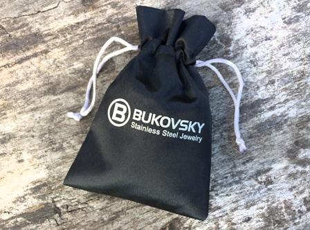 Met Gratis luxe bewaar/geschenkzakje. - Bukovsky Stainless Steel Jewelry