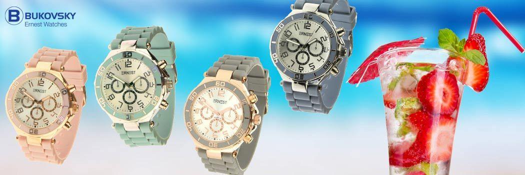 50% korting op alle Ernest horloges - Bukovsky.nl